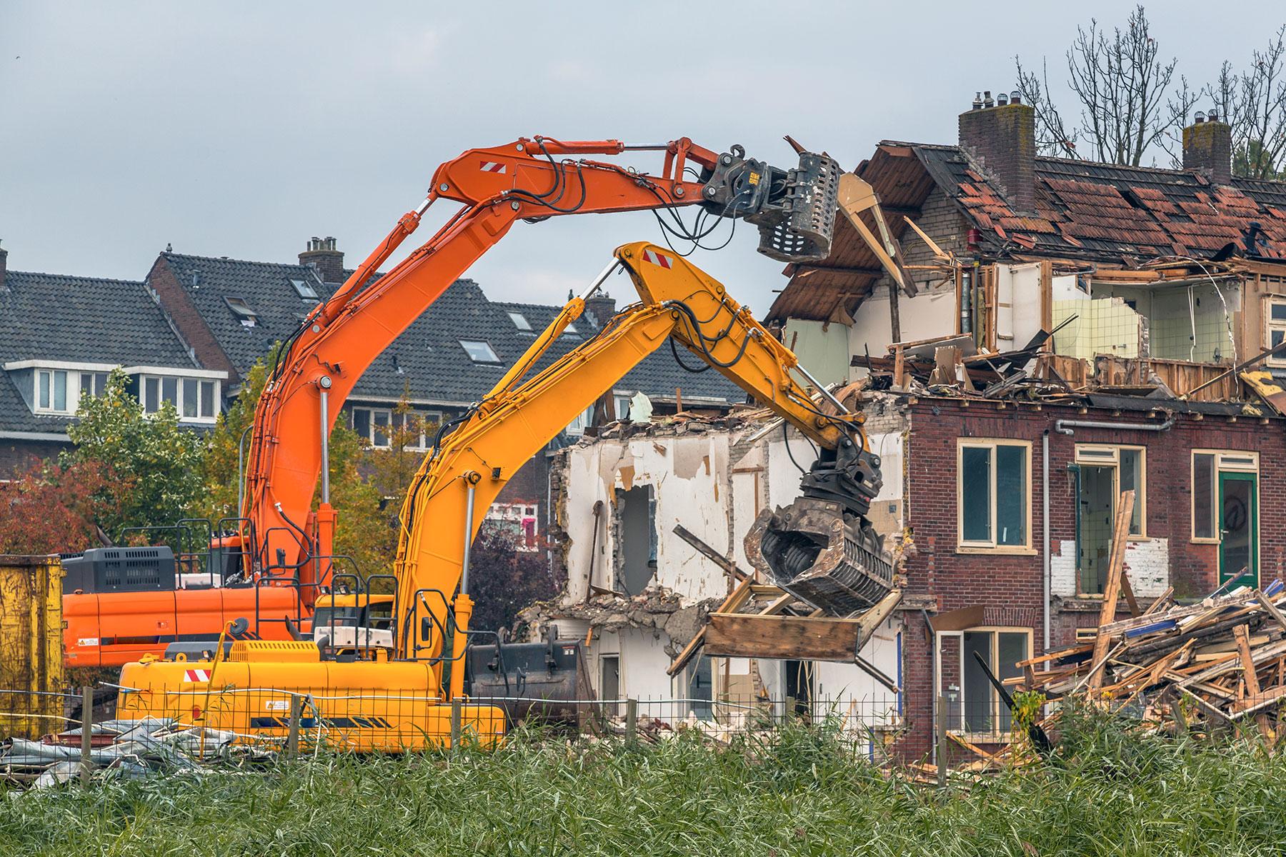 Demolir une maison pour reconstruire
